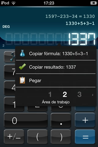 Calculadora HD+ screenshot